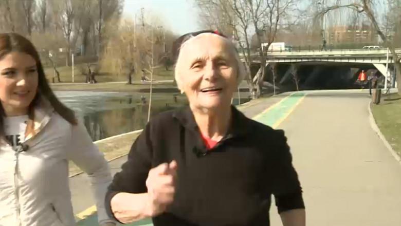 femeie 90 de an