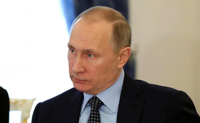 putin la intalnire cu le pen - kremlin