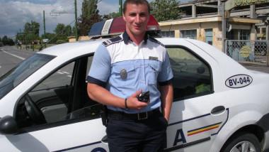 Polițistul Marian Godină