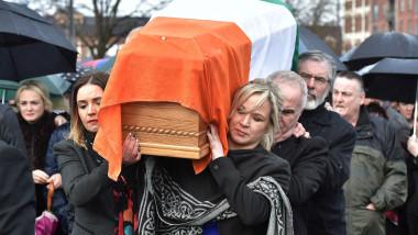 Former Deputy First Minister Of Northern Ireland Martin McGuinness Dies