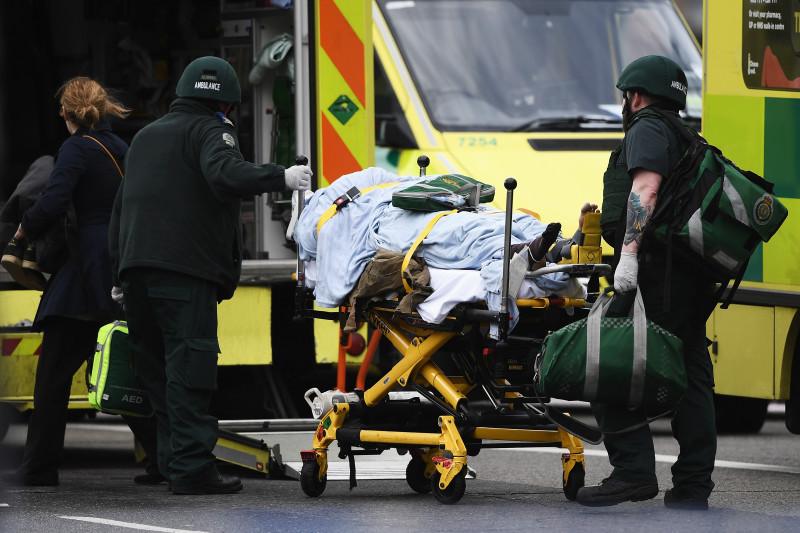 Firearms Incident Takes Place Outside Parliament