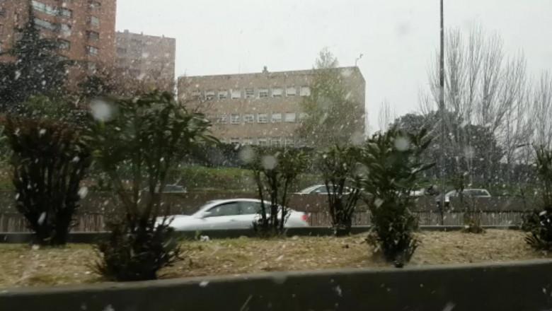 ninsoare spania