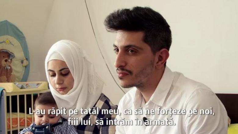 familie refugiati sirieni in romania