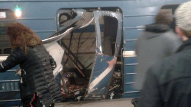 Explosion in St. Petersburg metro system kills at least 10