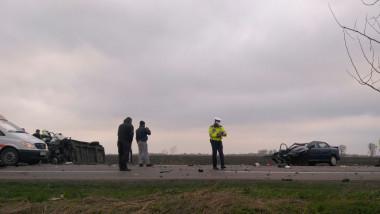 accident E85 padurea Sinesti 040417 (1)