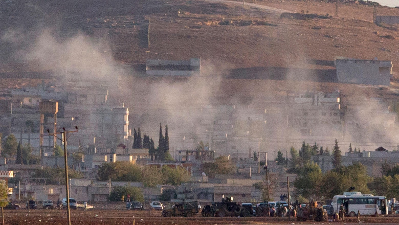 Refugees Flee Syria As ISIS Advances On Kobani