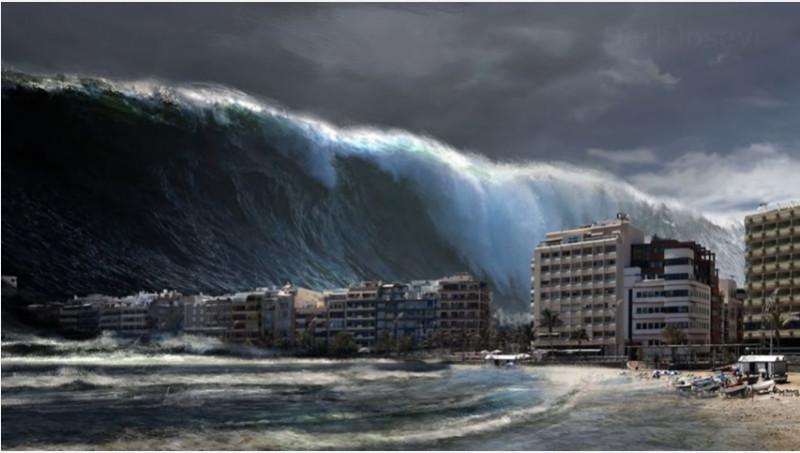 tsunami captura
