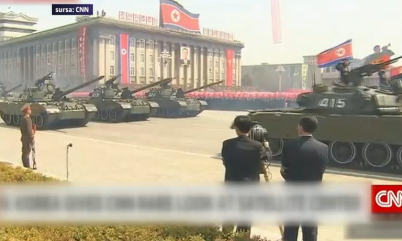 coreea de nord tancuri