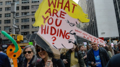 Tax Day Activists Hold Marches In Major U.S. Cities