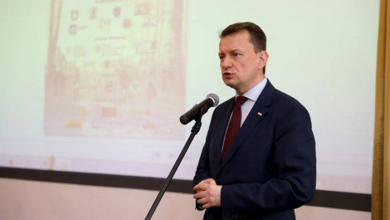 Mariusz Blaszczak ministru polonez facebook