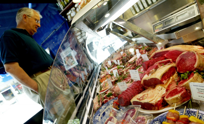Sales Of Red Meat Rise As The Atkins Diet Sweeps Britain