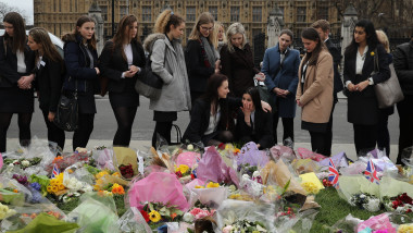 A Vigil And Minute's Silence To Remember The Victims Of Last Week's Westminster Terrorist Attack