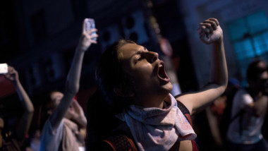 Protestors Rally In Sao Paulo As Presidential Impeachment Is Debated