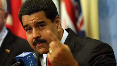 President Of Venezuela Nicolas Maduro Meets With United Nations Secretary General Ban Ki Moon