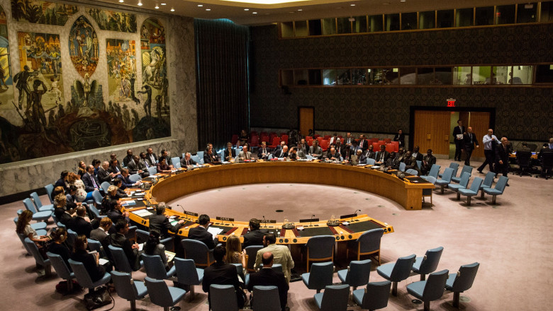 United Nations Security Council Meets On Middle East