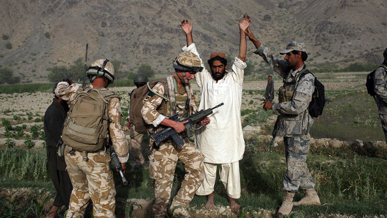 British Paratroopers Conduct Operation To Capture Taliban Leaders