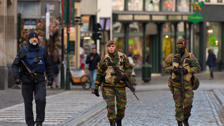 Brussels On High Alerts As Terror Threat Closes The Belgian Capital