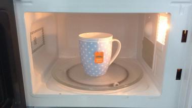 ceai la microunde