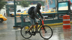 Torrential Rainstorm Pounds Manhattan, Adding To An Already Above Average Rainy July