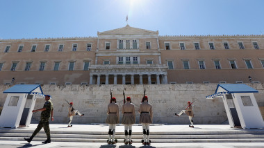 Greece's Election Winning Party Begin Talks To Form A Ruling Coalition