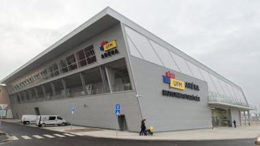 Új sportcsarnokot adtak át Mosonmagyaróváron