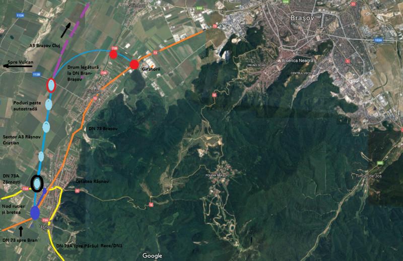 Pe Unde Va Trece Primul Segment Al Autostrăzii Comarnic Brașov