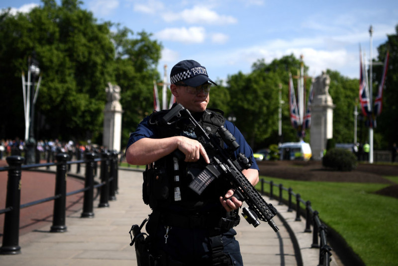 Heightened Security Is Visible In UK Following The Manchester Terrorist Attack