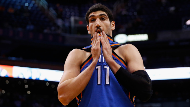 Enes Kanter turc getty