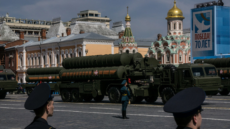 Moscow Prepares For WW2 Victory 70th Anniversary Celebration