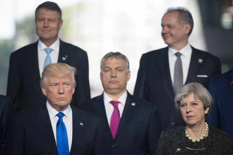 Leaders Meet For NATO Summit