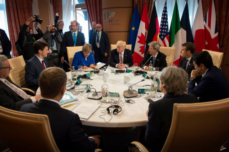 Summit G7 Italia 2017, Trump, Merkel_GettyImages-688721838