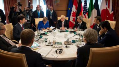 Summit G7 Italia 2017, Trump, Merkel_GettyImages-688721838
