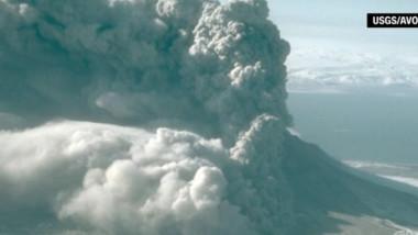 eruptie vulcan alaska