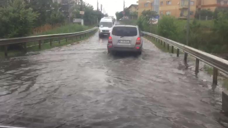 ploaie bucuresti trafic