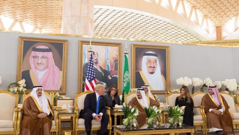 trump in arabia saudita