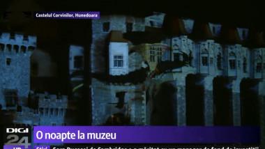 castelul corvinilor noaptea muzeelor