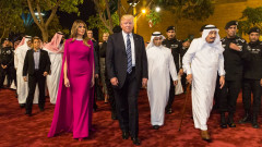 trump melania arabia saudita fb whitehouse