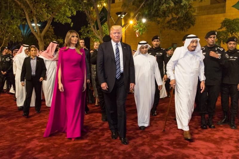 trump melania arabia saudita fb whitehouse
