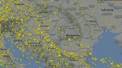 harta trafic aerian Romania