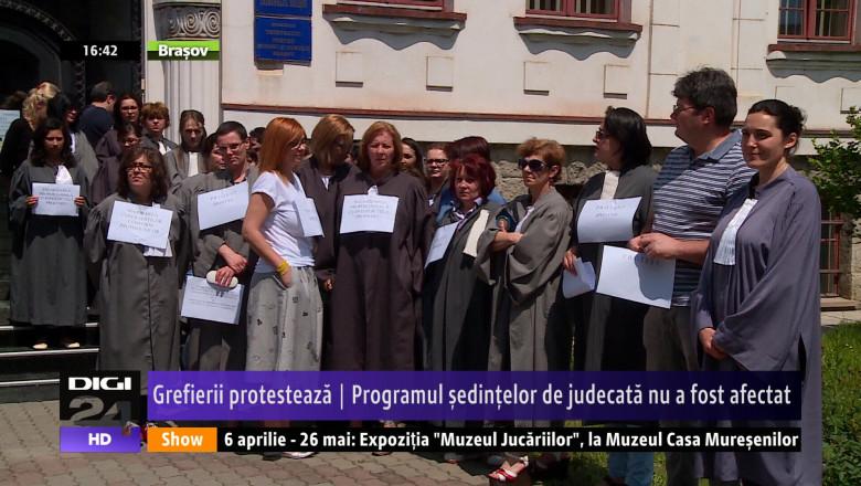 PROTEST GREFIERI
