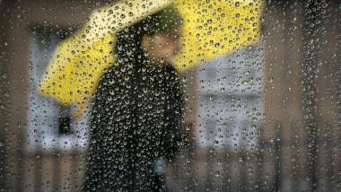 Wind And Rain Hit The UK