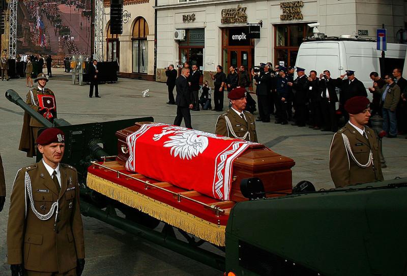 Funeral Service Of Lech Kaczynski And First Lady Maria
