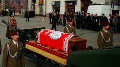 Funeral Service Of Lech Kaczynski And First Lady Maria