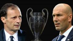 Massimiliano Allegri si Zinedine Zidane, finala Liga Campionilor_GettyImages-691184874