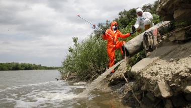 Greenpeace prelevare probe Somes2