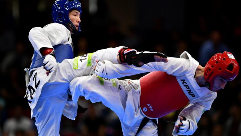Taekwondo bun