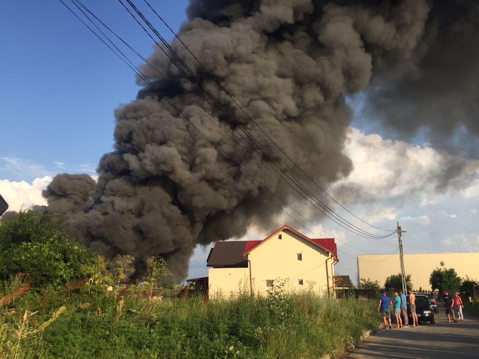 incendiu Balotesti 16 270617