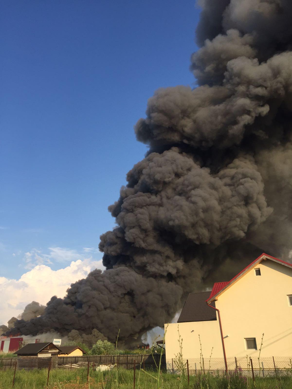 incendiu Balotesti 18 270617