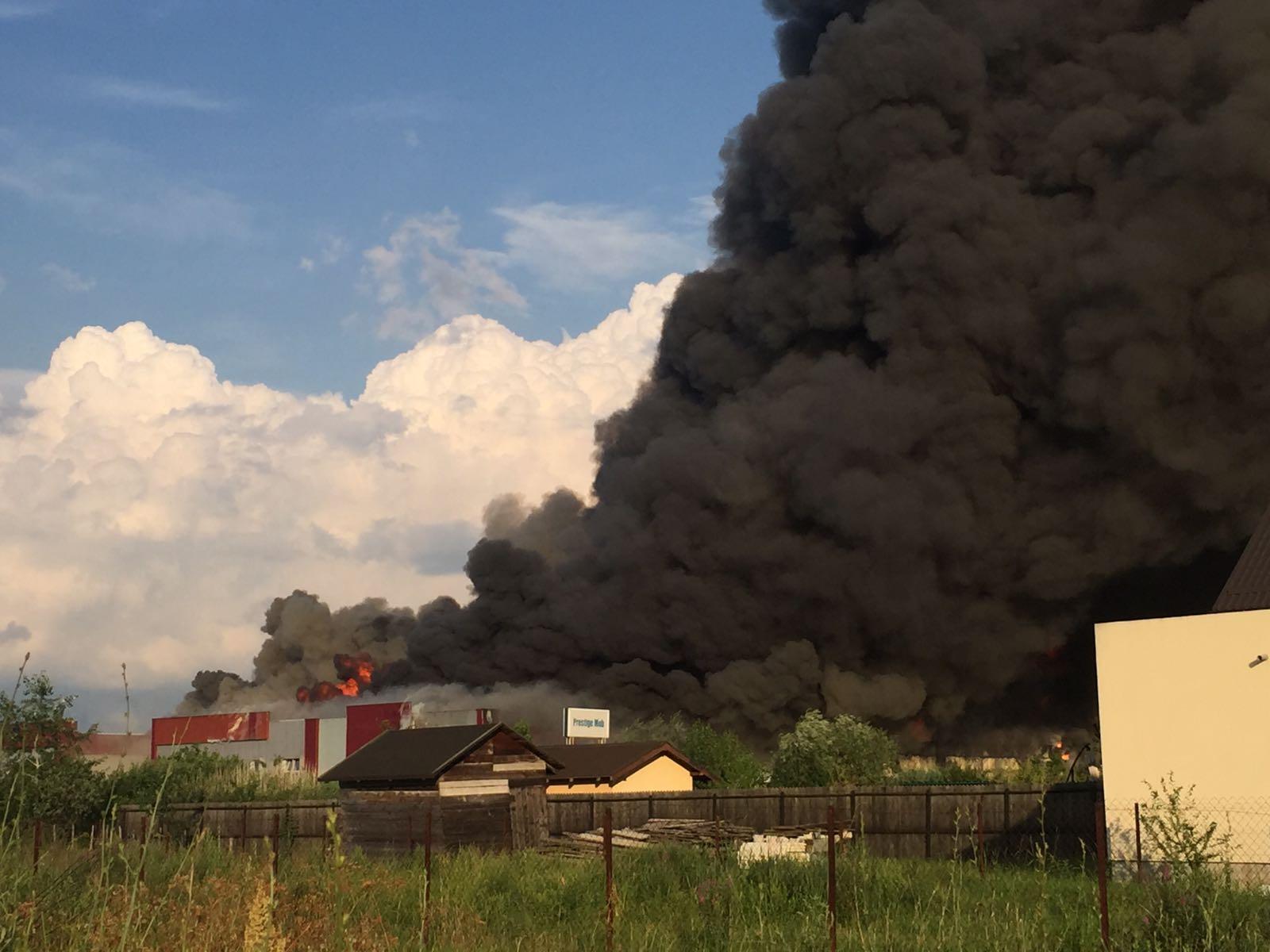 incendiu Balotesti 21 270617
