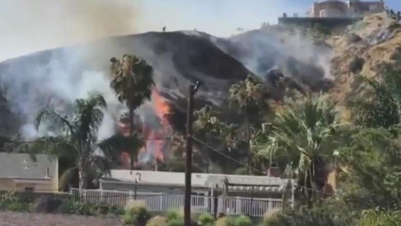 incendiu hollywood